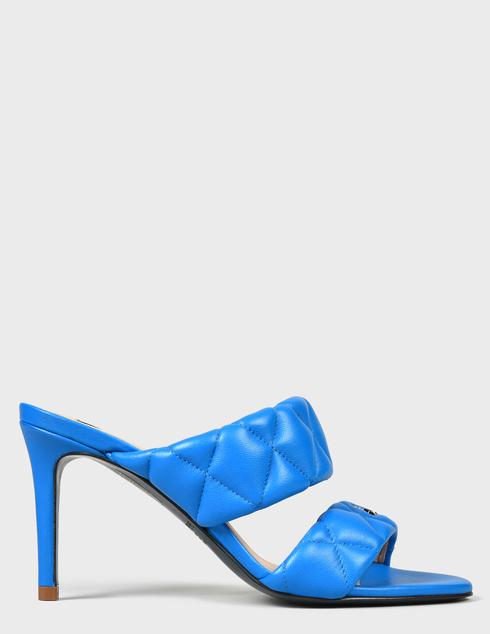 женские синие Шлепанцы Patrizia Pepe AGR-2VA174/A8X2-C859 - фото-6