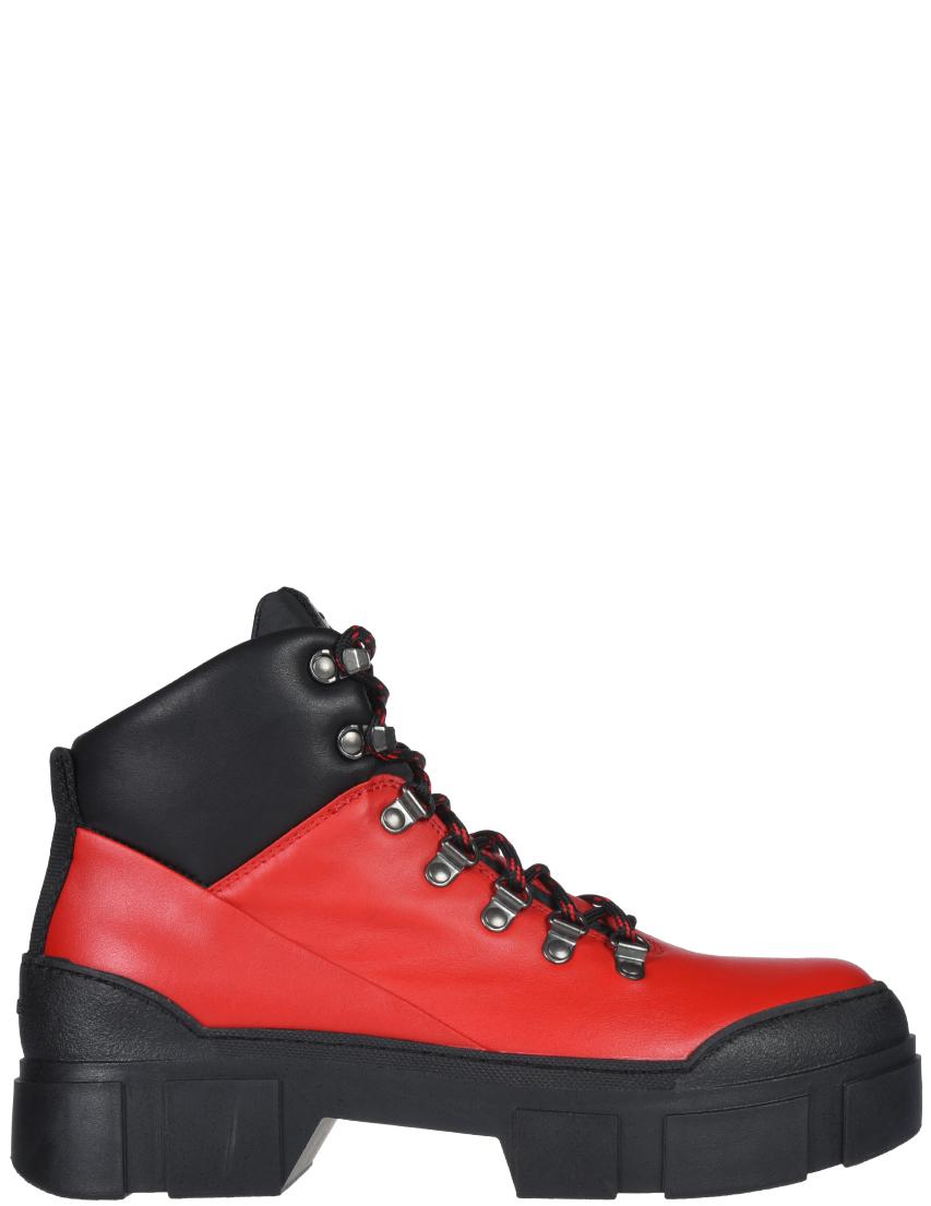 Купить Ботинки, VIC MATIE, Красный, Осень-Зима
