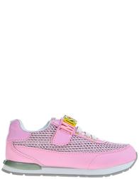 Детские кроссовки для девочек Moschino 25680_pink