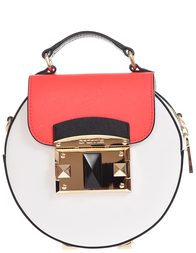Женская сумка Cromia 3243-SAFFIANO-white-multi