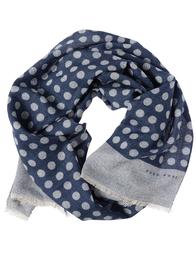 Мужской шарф HUGO BOSS 50376085-410_blue