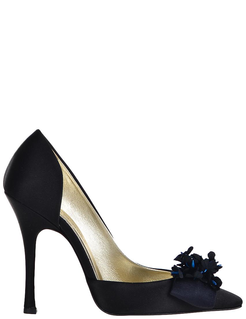 Купить Туфли, INES DE LA FRESSANGE, Черный, Осень-Зима