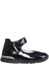 Детские туфли для девочек Naturino Carry-nero_black