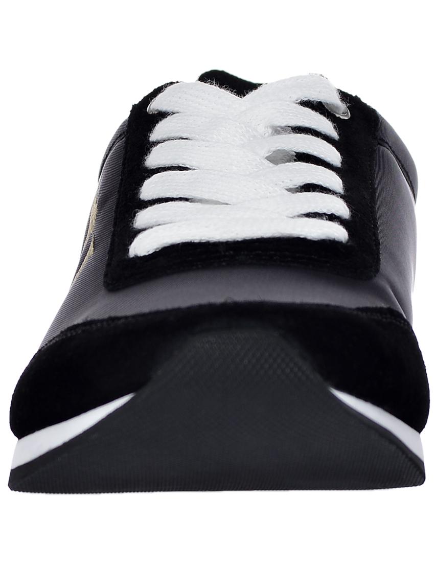 Фото 4 - женские кроссовки  черного цвета