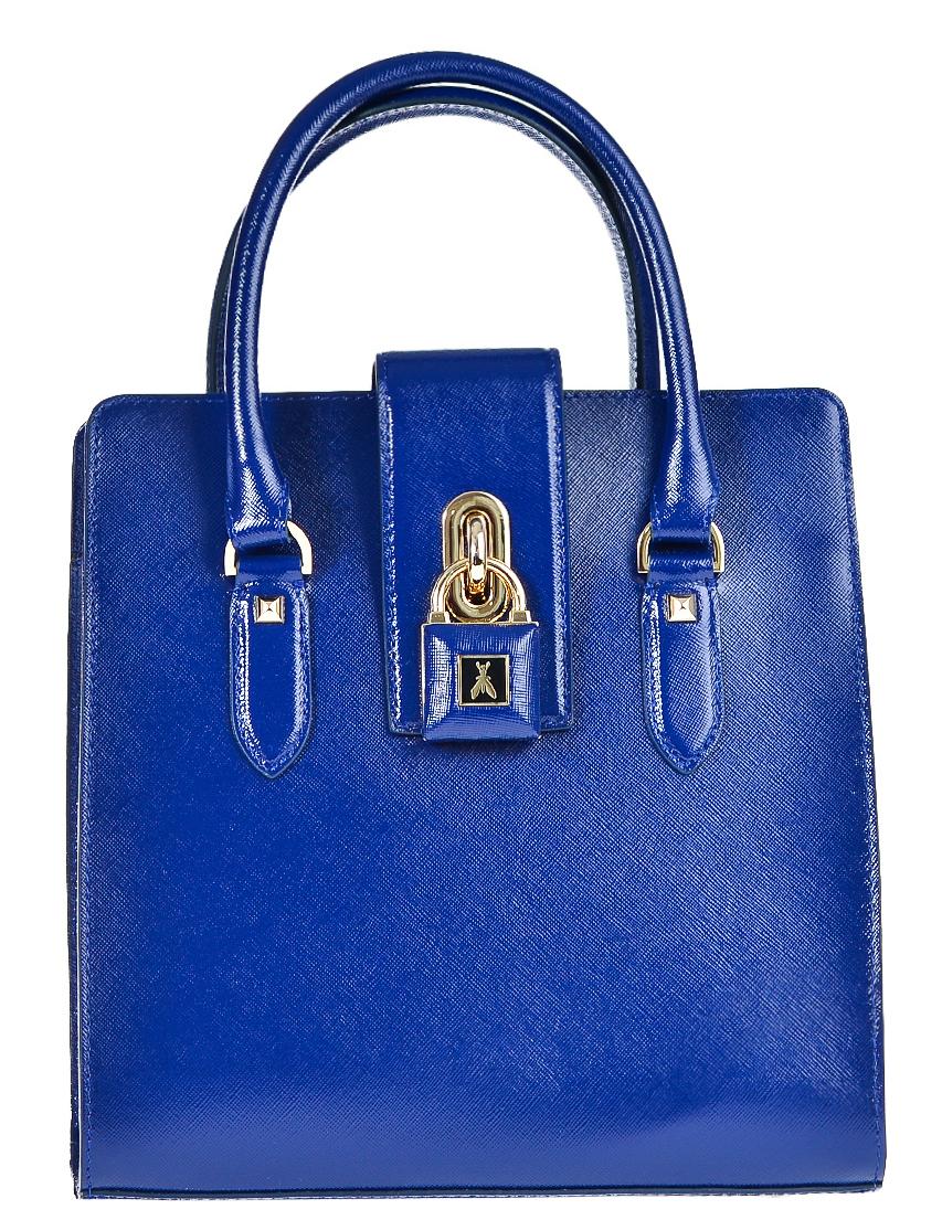 Купить Женские сумки, Сумка, PATRIZIA PEPE, Синий, Осень-Зима