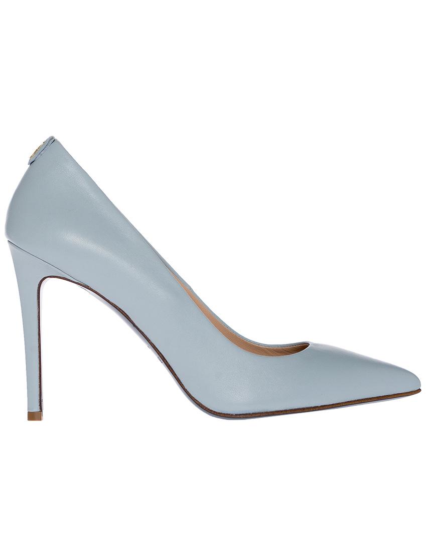 Фото 7 - женские туфли  голубого цвета