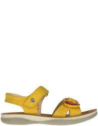 Детские босоножки для девочек Naturino 5730-gialo-mirtillo_yellow