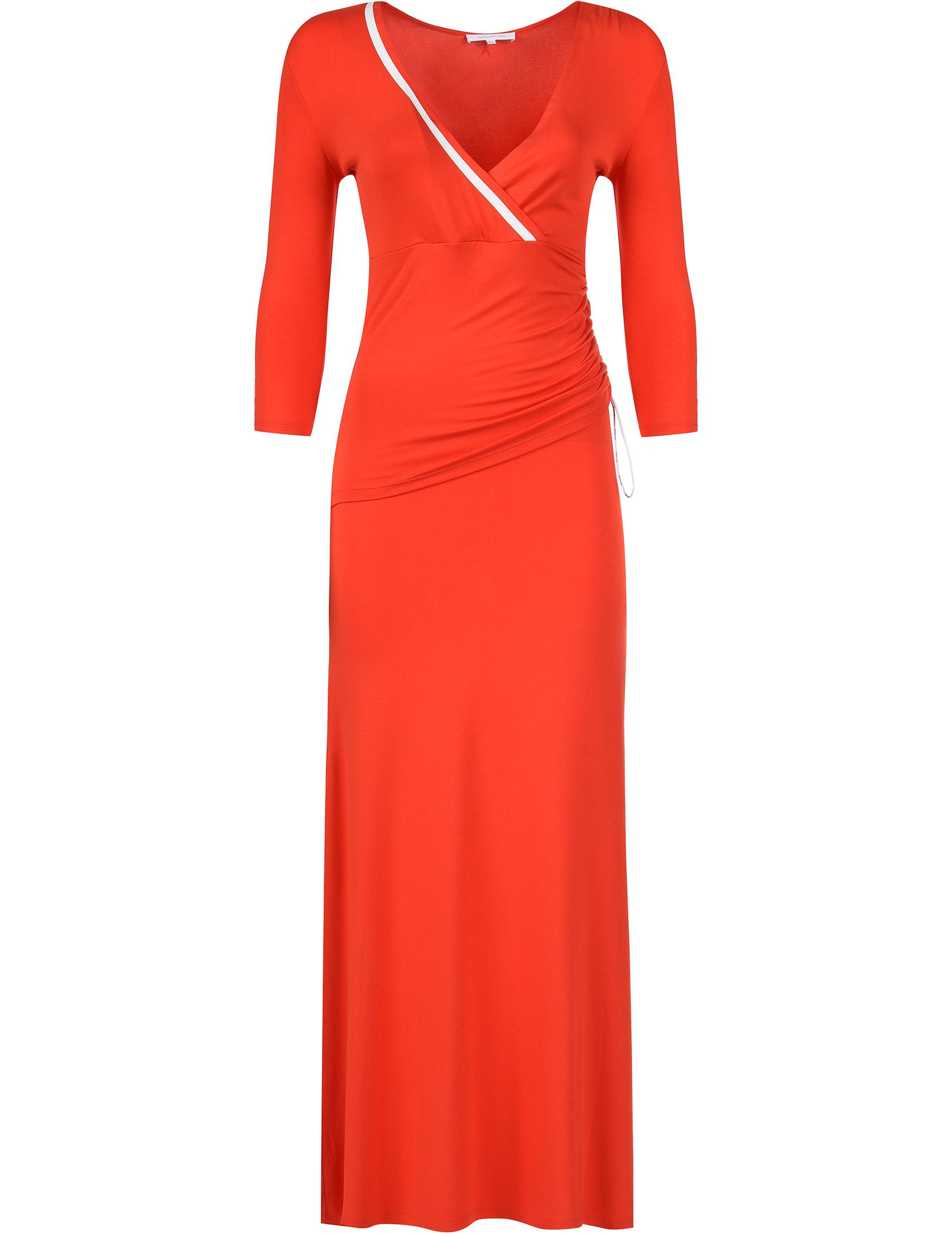 Купить Платье, PATRIZIA PEPE, Красный, 95%Вискоза 5%Эластан, Весна-Лето