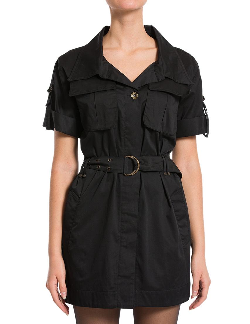 Купить Платье, PLEIN SUD, Черный, 100%Хлопок, Осень-Зима