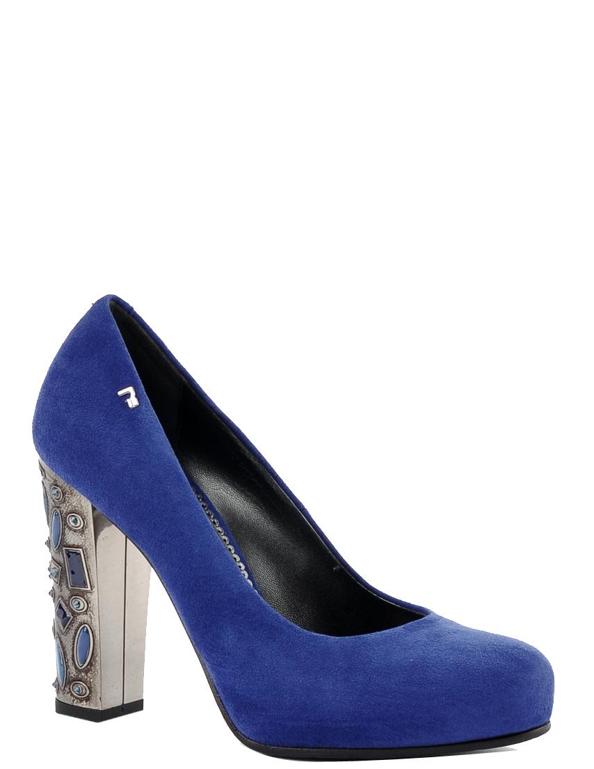 Купить Туфли, MARINO FABIANI, Синий, Осень-Зима