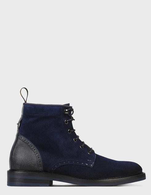 мужские синие Ботинки Brimarts 320800 - фото-6