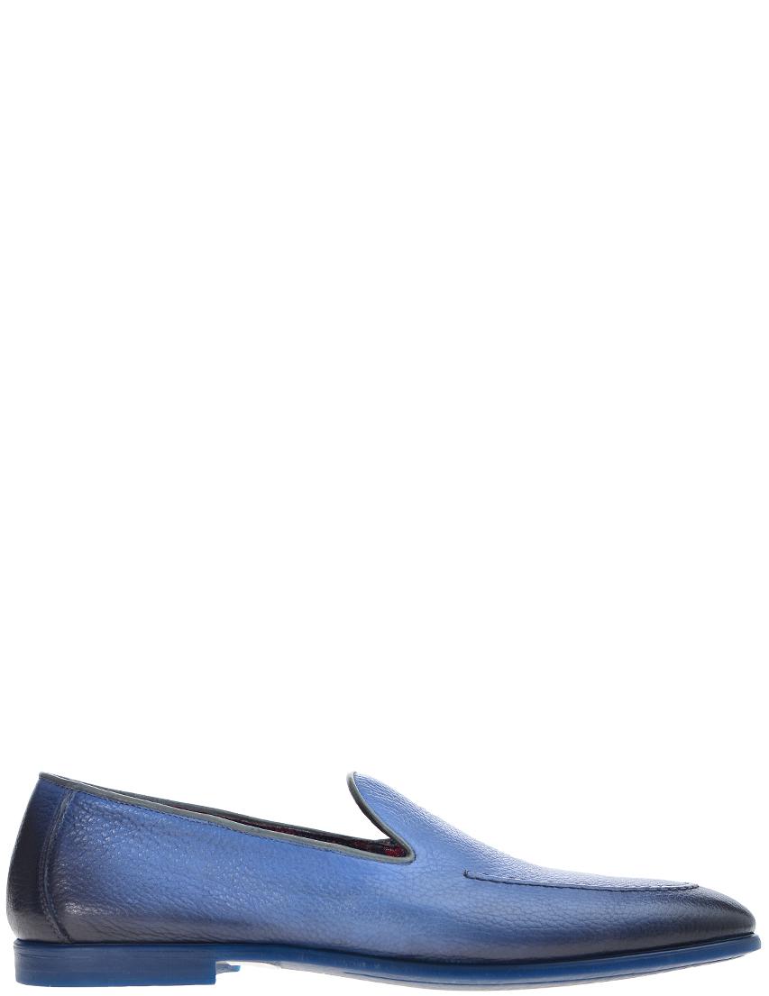 Мужские туфли DoucalS 2205-1105_blue
