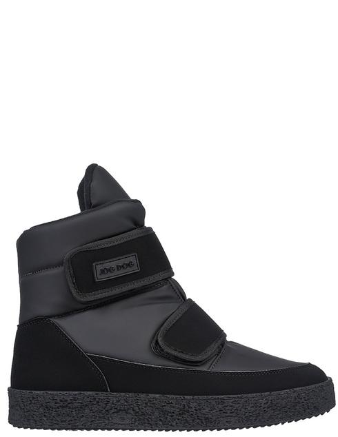 мужские черные текстильные Ботинки Jog Dog 18006 - фото-5