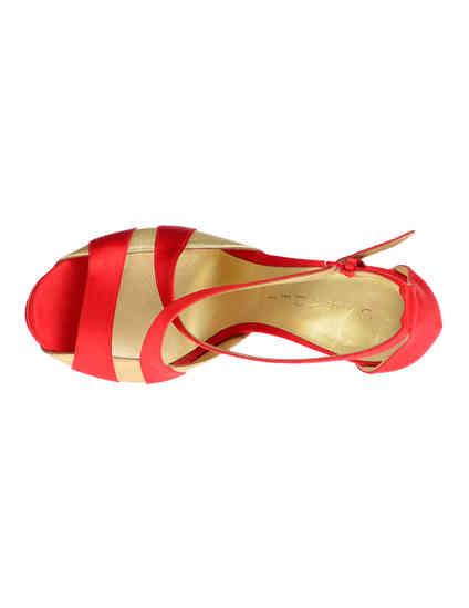 женские красные Босоножки Casadei 6476_red - фото-7