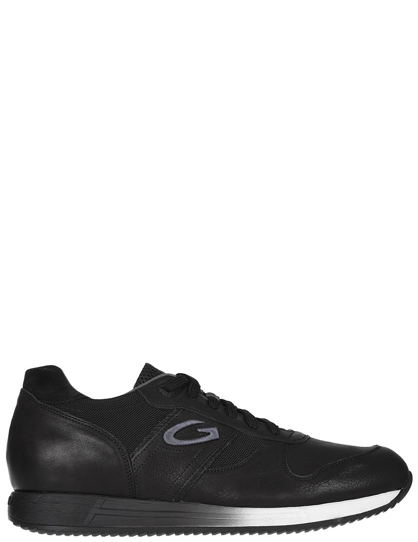 Мужские кроссовки Alberto Guardiani 77383-К-R_black