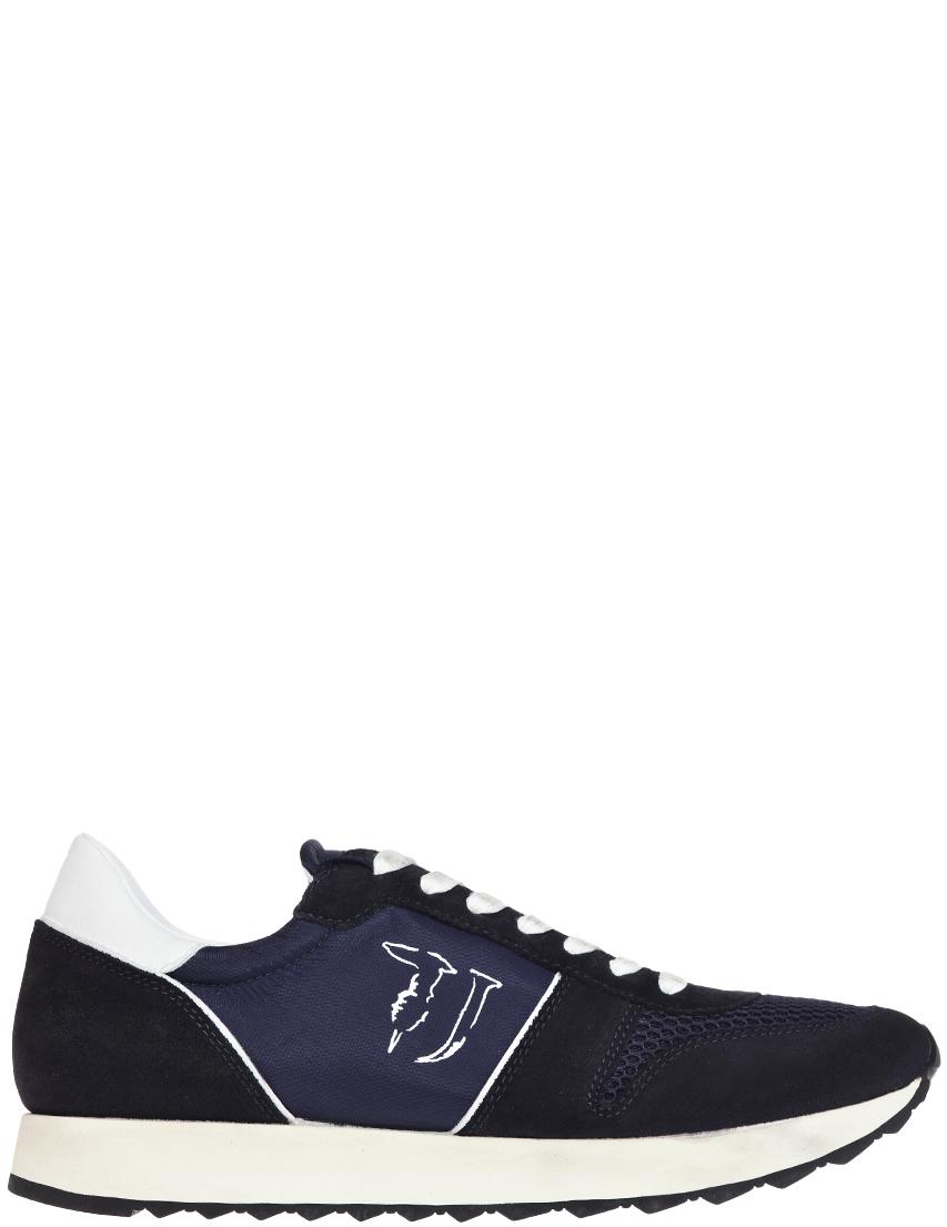 Мужские кроссовки Trussardi Jeans AGR-77064_blue