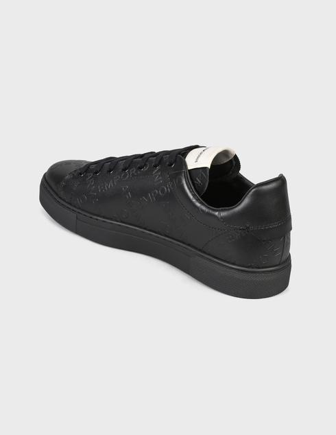 мужские черные Кеды Emporio Armani X4X554XM994-K001 - фото-2