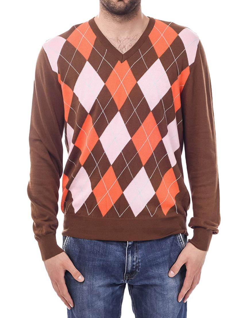 Мужской пуловер MONTANA PARIS 40316-009_brown