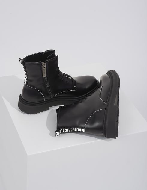 черные Ботинки Bikkembergs B4BKM0007-ZIBI