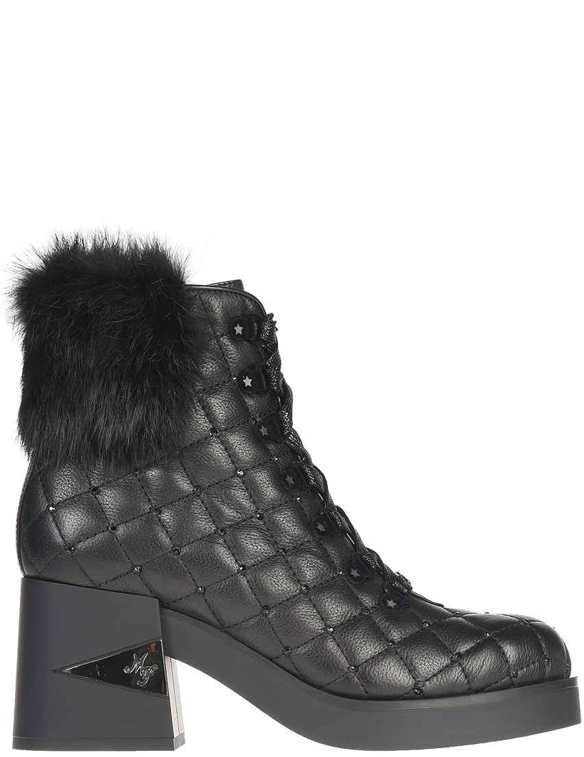 Женские ботинки Marino Fabiani 5161_black