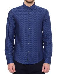 Мужская рубашка ARMANI JEANS 6Y6C09-6NMEZ_blue