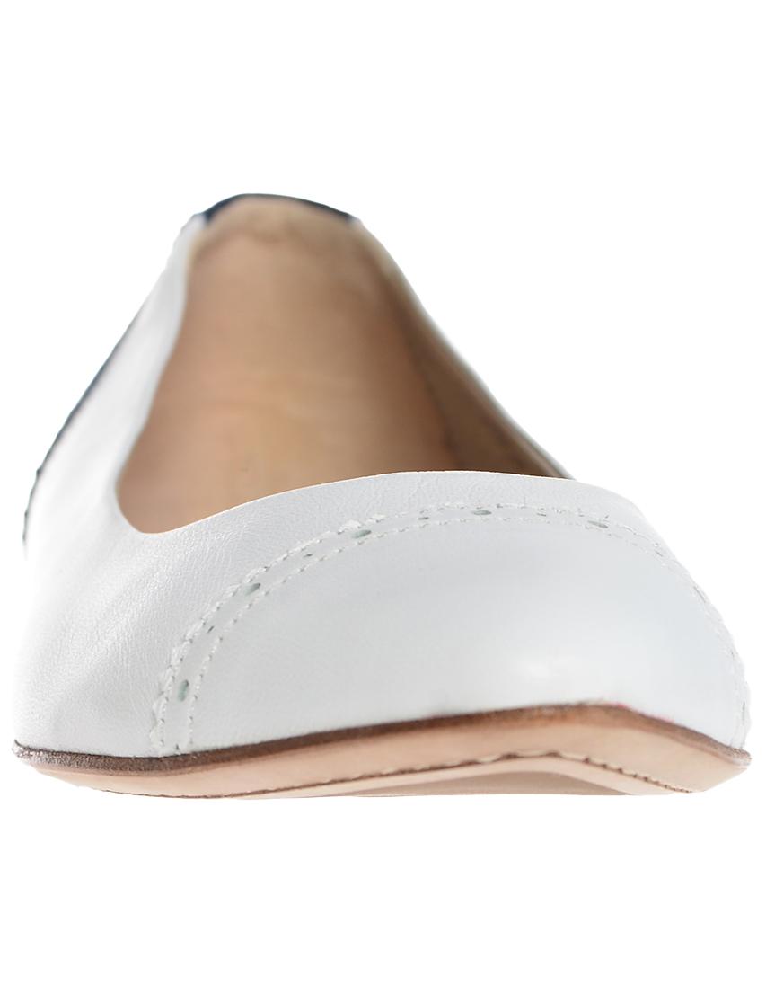 Фото 4 - женские балетки REDWOOD белого цвета