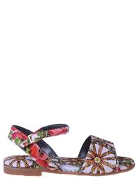 Детские сандалии для девочек DOLCE & GABBANA D10153_multi
