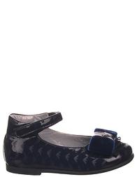 Детские туфли для девочек ARMANI JUNIOR ZA502blue