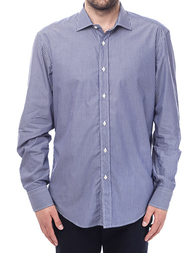 Мужская рубашка VALENTINO P-105_blue