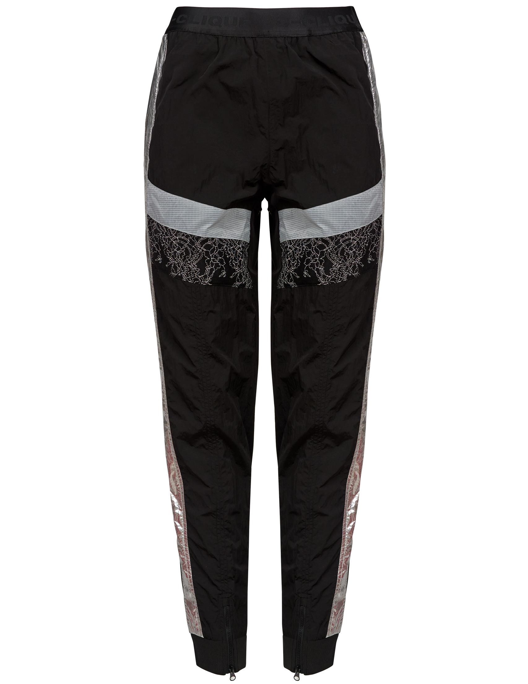 Купить Спортивные брюки, PINKO, Черный, 100%Нейлон, Весна-Лето