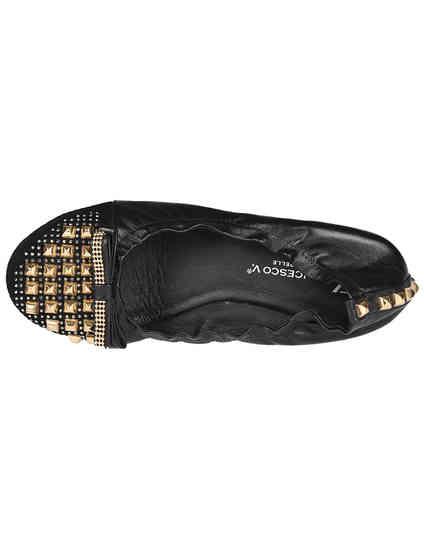 черные Балетки Francesco Valeri 214_black размер - 36; 37