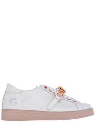 Женские кроссовки D.A.T.E. W261-TW-SN-white-pink