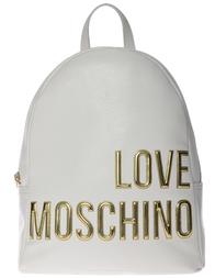 Женский рюкзак Love Moschino 4081_white