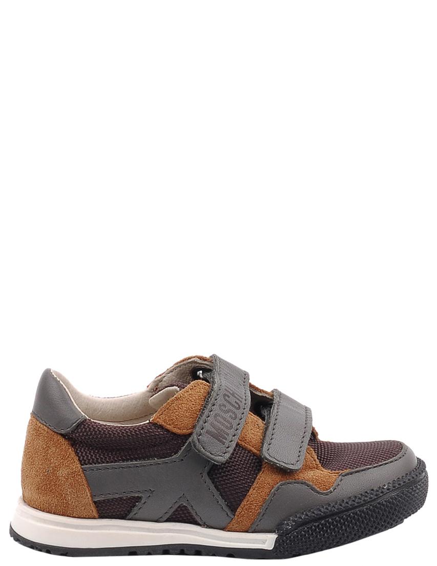 Детские кроссовки для мальчиков MOSCHINO 25398-brown