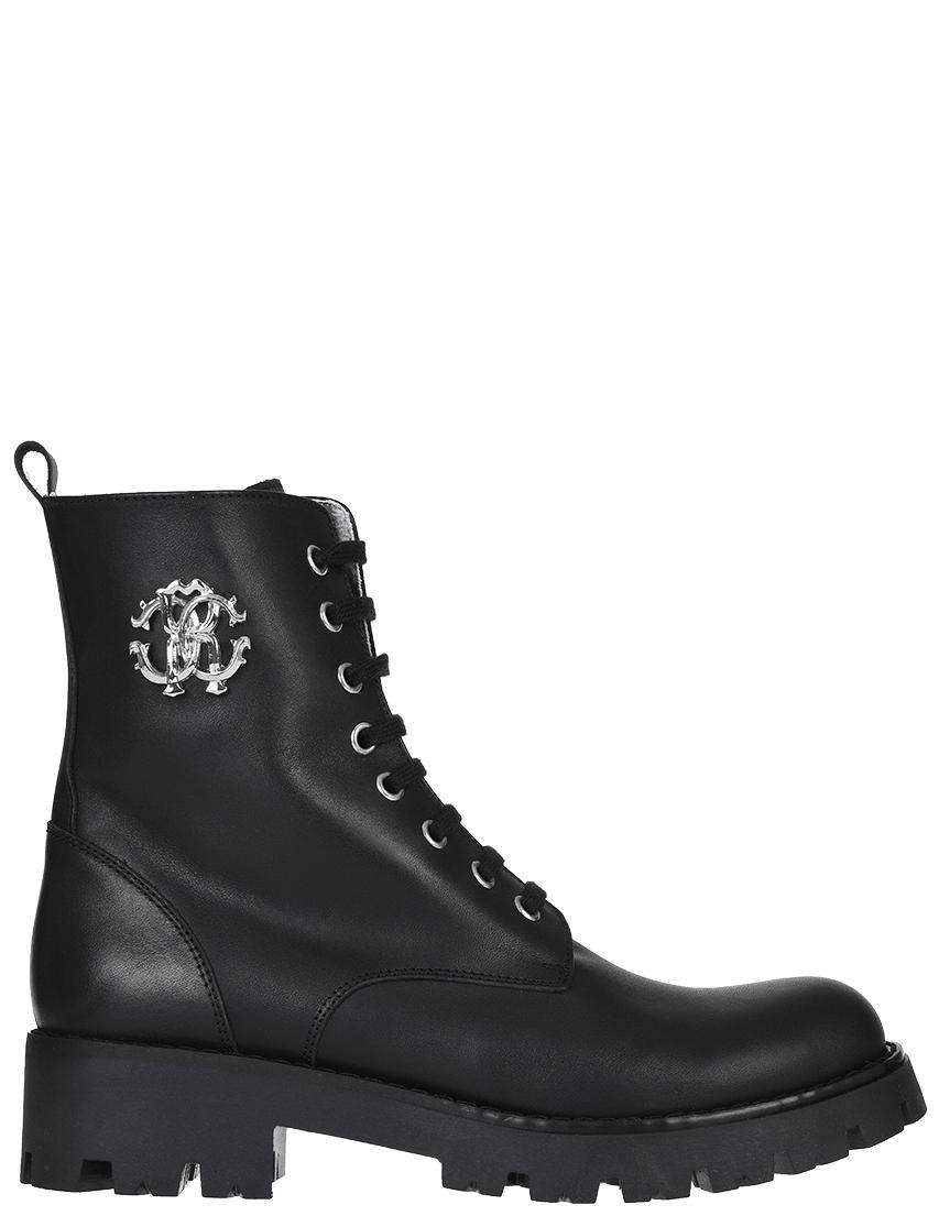 Женские ботинки Roberto Cavalli 38465-К_black
