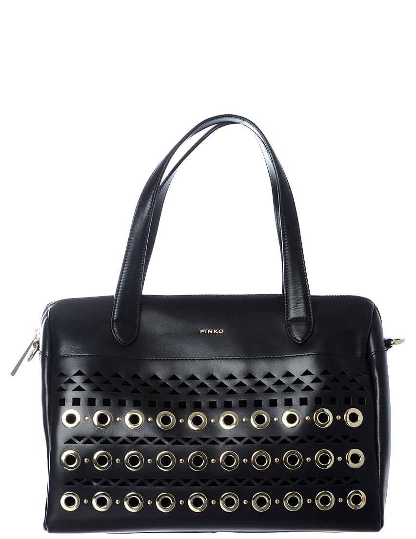 Купить Женские сумки, Сумка, PINKO, Черный, Весна-Лето