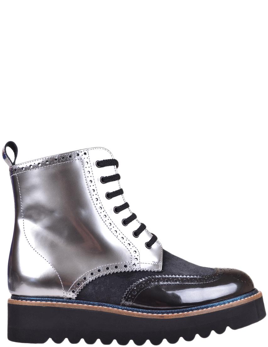 Женские ботинки Pertini 12783-М1-2ГЛ-LM-silver