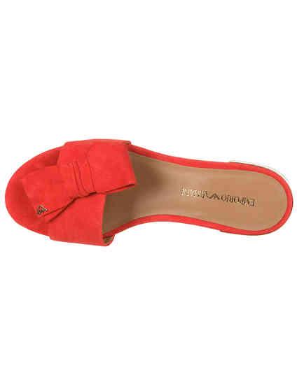 красные Шлепанцы Emporio Armani X3P702XF159-00640 размер - 37; 38.5; 39