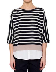 Женская блуза BOGNER 5655_white-black