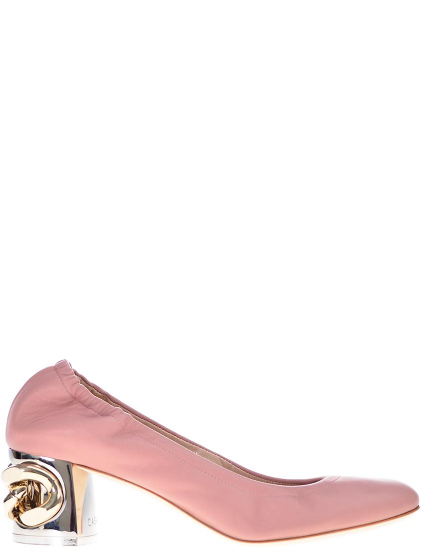 Фото - женские туфли  розового цвета