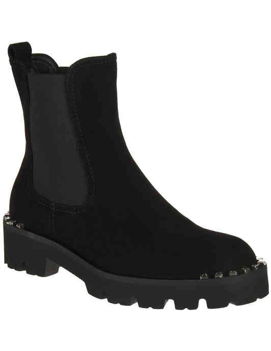 женские черные Ботинки Baldinini 949179_black - фото-2