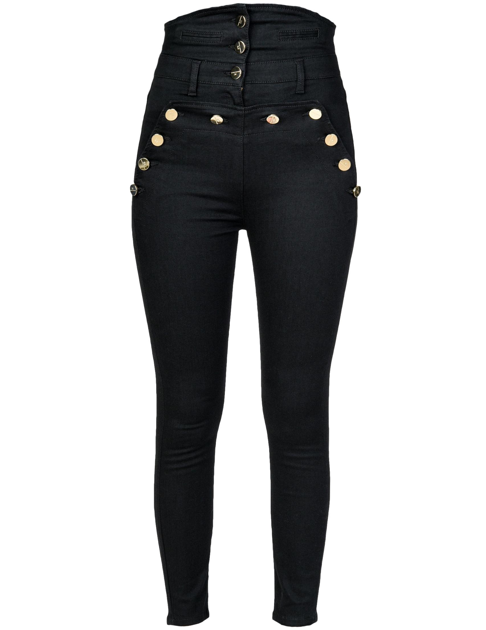 Женские джинсы ELISABETTA FRANCHI 17S-86E2_black
