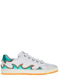 Детские кроссовки для девочек Naturino 4062-bianco-aqua-arancio_white