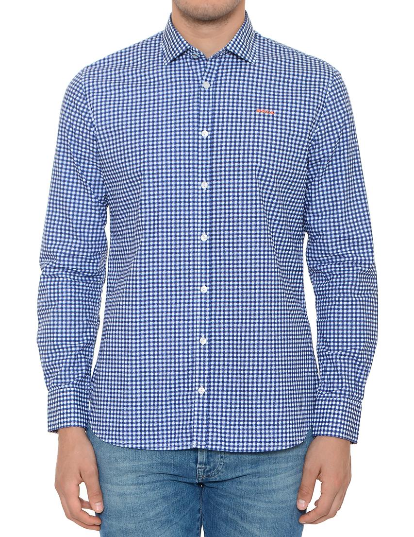 Купить Рубашка, NEW ZEALAND AUCKLAND, Синий, 100%Хлопок, Весна-Лето