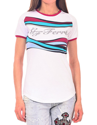 Женская футболка GF FERRE 70XF771282015_white