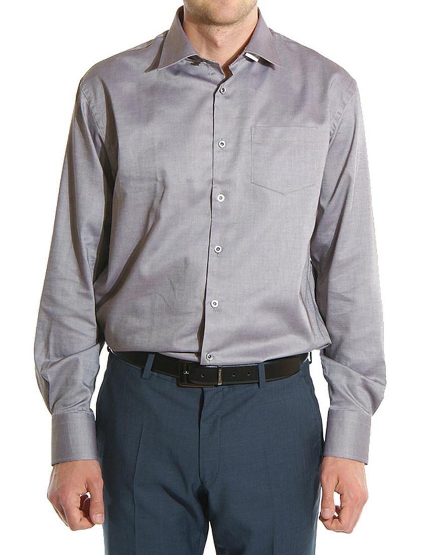 Купить Рубашка, GF FERRE, Серый, 100%Хлопок, Осень-Зима