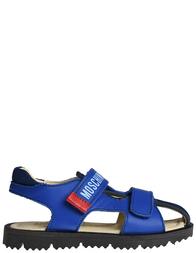 Детские сандалии для мальчиков Moschino 25821-blu