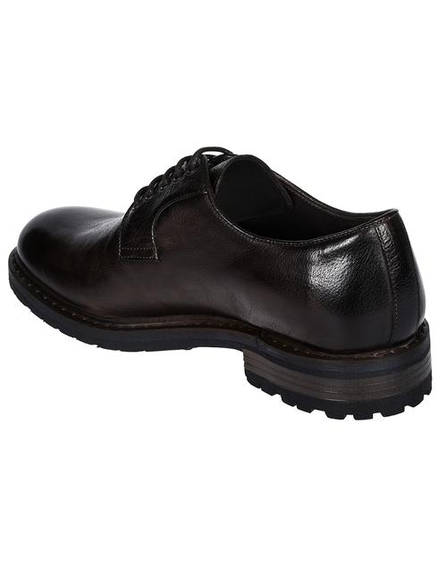 мужские коричневые Туфли Brecos 9178 - фото-2