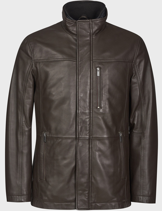 BUGATTI кожаная куртка