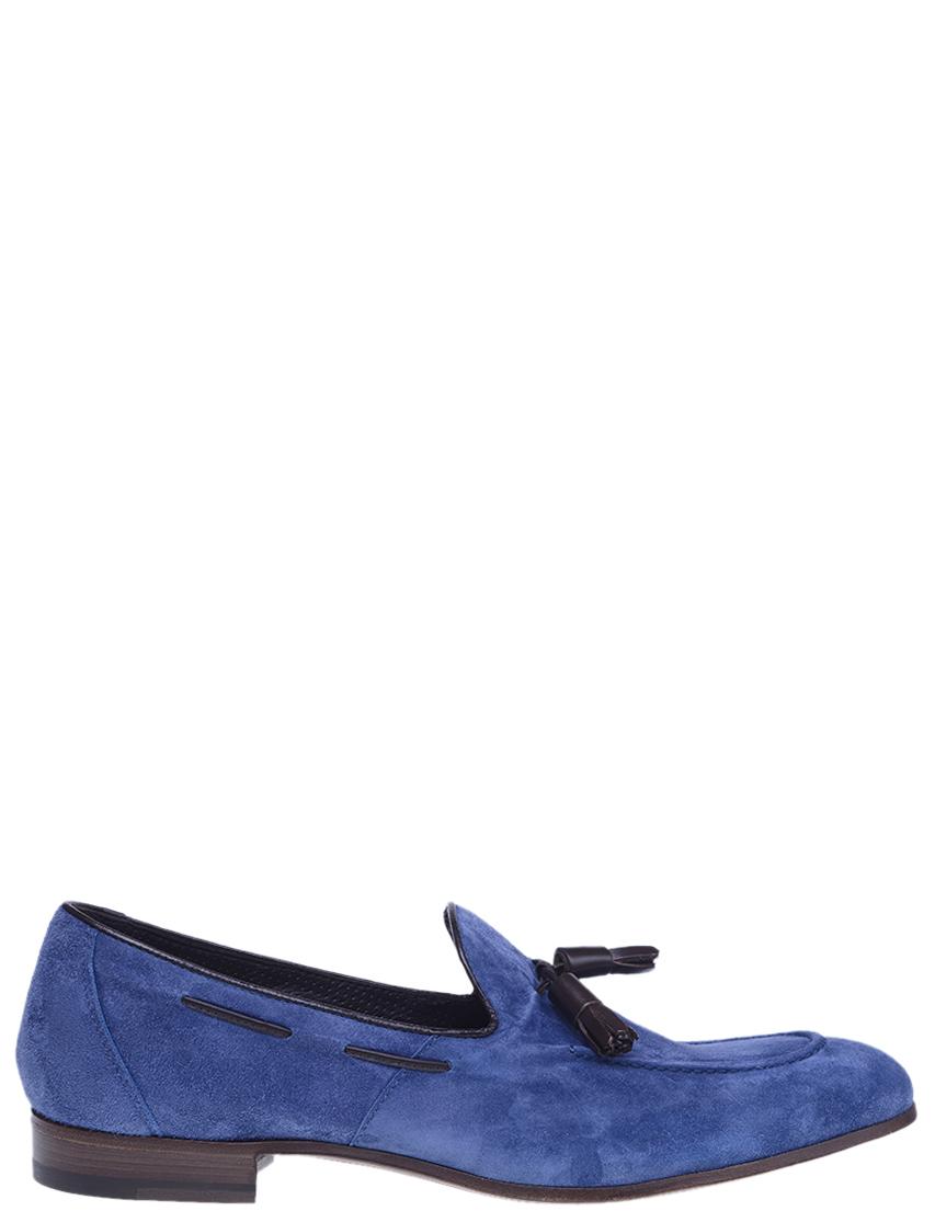 Мужские лоферы HENDERSON BARACCO 66411_blue